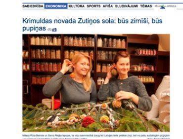 Krimuldas novada Zutiņos sola: būs zirnīši, būs pupiņas