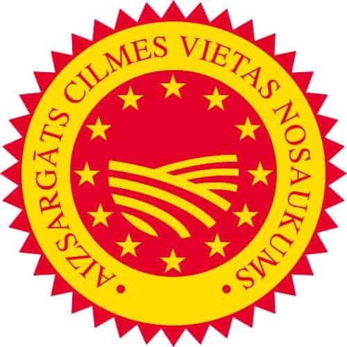 Aizsargātu cilmes vietas nosaukuma produktu reģistrs (PDO) logo