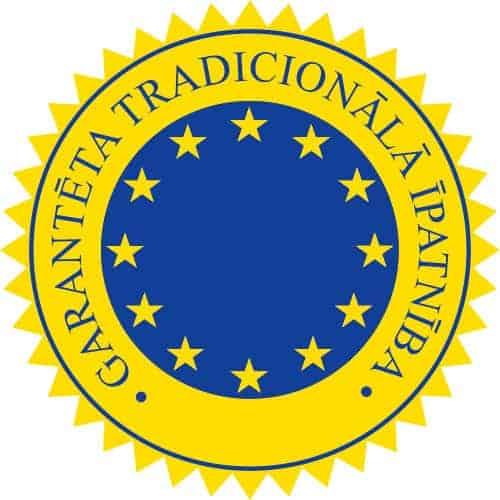 Produktu ar Garantētām tradicionālajām īpatnībām reģistrs (TSG) logo