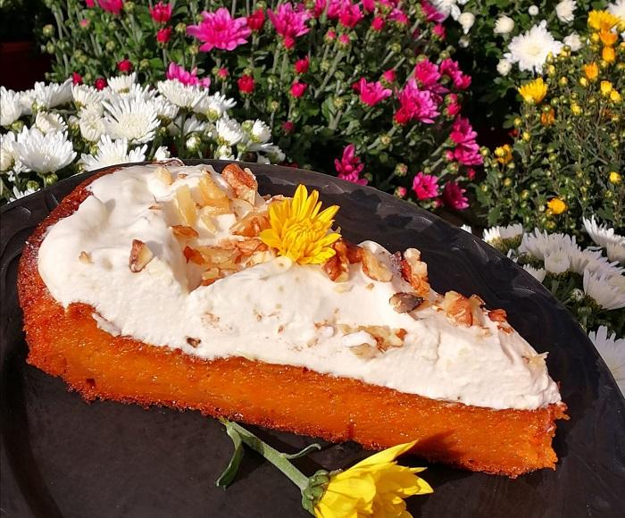 Burkānkūka – ātra, viegla un rudenīga recepte